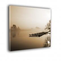 Obraz Jezioro we mgle nr 2283