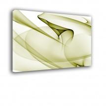 Ozdoba ściany w formie obrazu zielona abstrakcja nr 2287