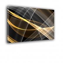 Obraz w stylu nowoczesnym złota abstrakcja nr 2416