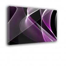Ozdoba ściany w formie obrazu fioletowy Abstrakcja nr 2433