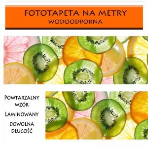 Zielone kiwi - fototapeta do kuchni