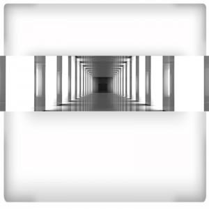 Fototapeta panoramiczna - tunel