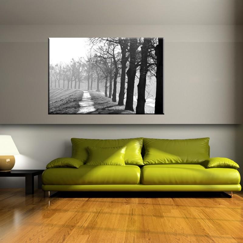 Obraz Drzewa Czarno Biały