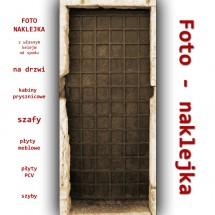 Foto-naklejka Drzwi