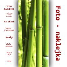 Nalepka bambusy