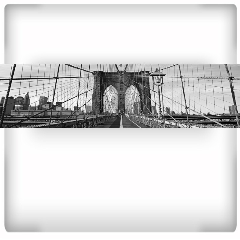 Fototapeta panoramiczna most Brookliński