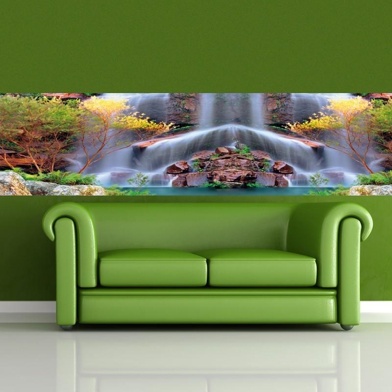 Fototapeta Panoramiczna Wodospad