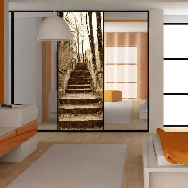 Fototapeta  Naklejka na szafę schody