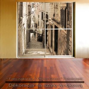 Schodami do Adriatyku - dekoracja na szafę