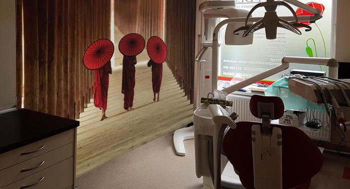 Fototapeta do gabinetu stomatologicznego - aranżacja