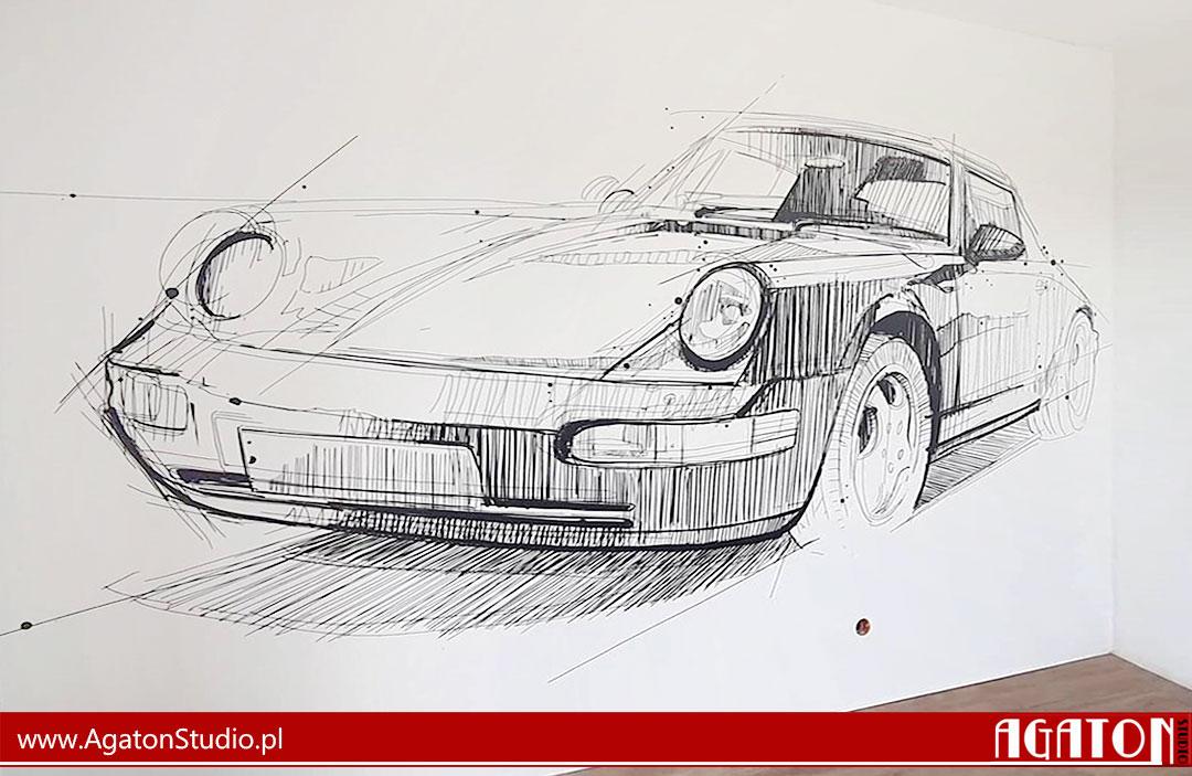 Fototapeta Porsche
