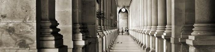 Fototapety kolumnada kolumny