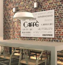 Obraz napisy kawa