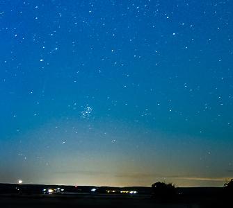 Fototapeta przedstawiająca niebo