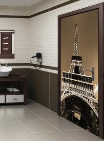 Drzwi z widokiem na Paryż
