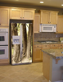 Fot-naklejka w kuchni