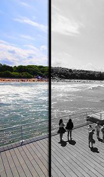 Fototapeta ze zdjęcia - morze